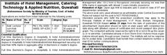 IHMCTAN Guwahati Recruitment 2015 indgovtjobs