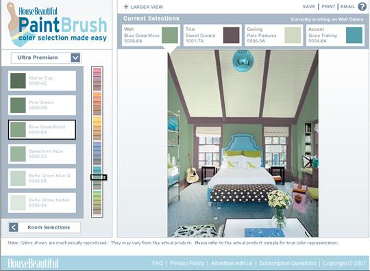 wandgestaltung mit farbe ein tool f r tolle farbideen. Black Bedroom Furniture Sets. Home Design Ideas