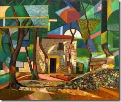 Auguste_Herbin_-_Paysage_de_Ceret_-_1913
