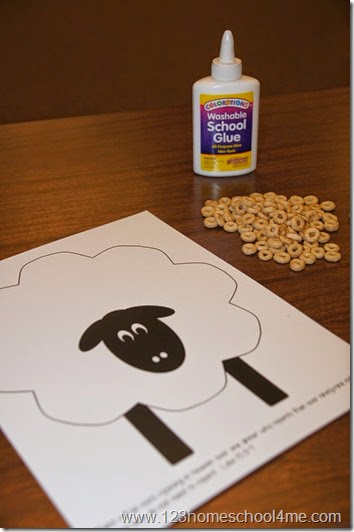 parable of the lost sheep free printable craft for kids
