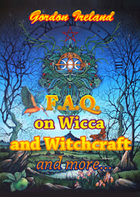 Cover of Gordon Ireland's Book FAQ On Wicca And Witchcraft And More