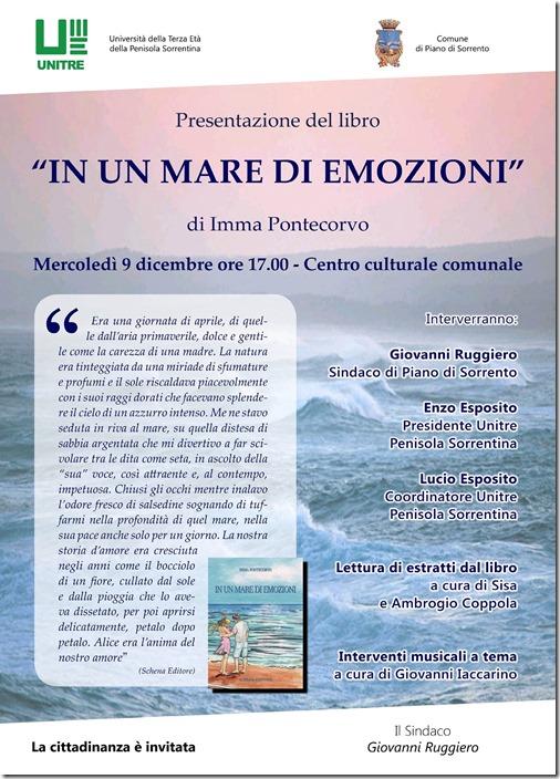 Locandina In un mare di emozioni - Imma Pontecorvo