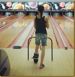 Allison bowling