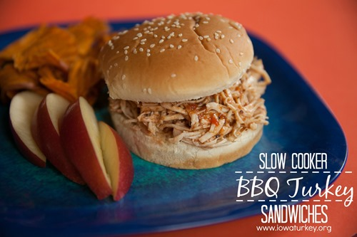 Slow Cooker Bbq Turkey Sandwich (2)