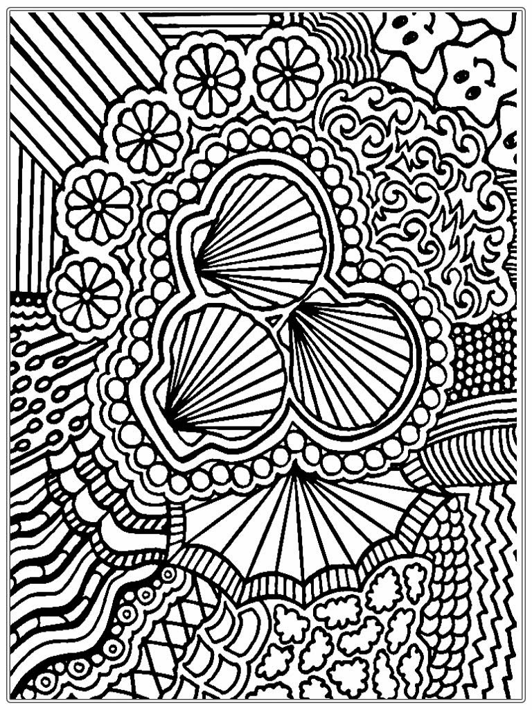 free adult printable coloring pages - Free printable mandala coloring pages