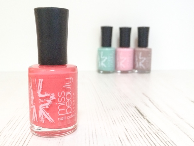 miss-beauty-london-tiffany-candy-floss-malibu-starkers-poundworld-budget-beauty-nailpolish-nail-polish-beauty-blog-fashion-highstreet-affordable-mint-green-nails-cheap-summer