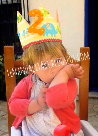 corona de cumpleaños animales