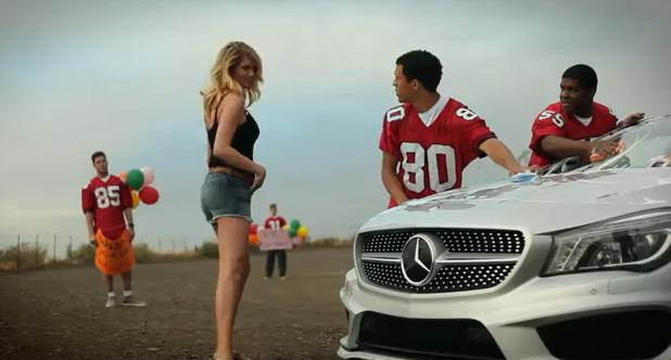 Super Bowl Ad Watch — Kate Upton's Mercedes-Benz Slow Motion Car Wash