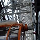 giant ferris wheel in Yokohama, Tokyo, Japan