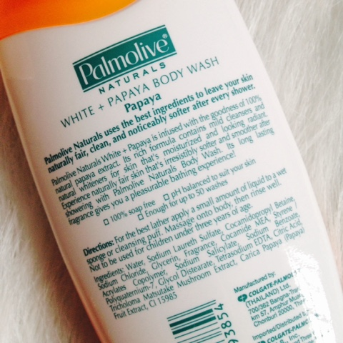 Palmolive Naturals White + Papaya Body Wash