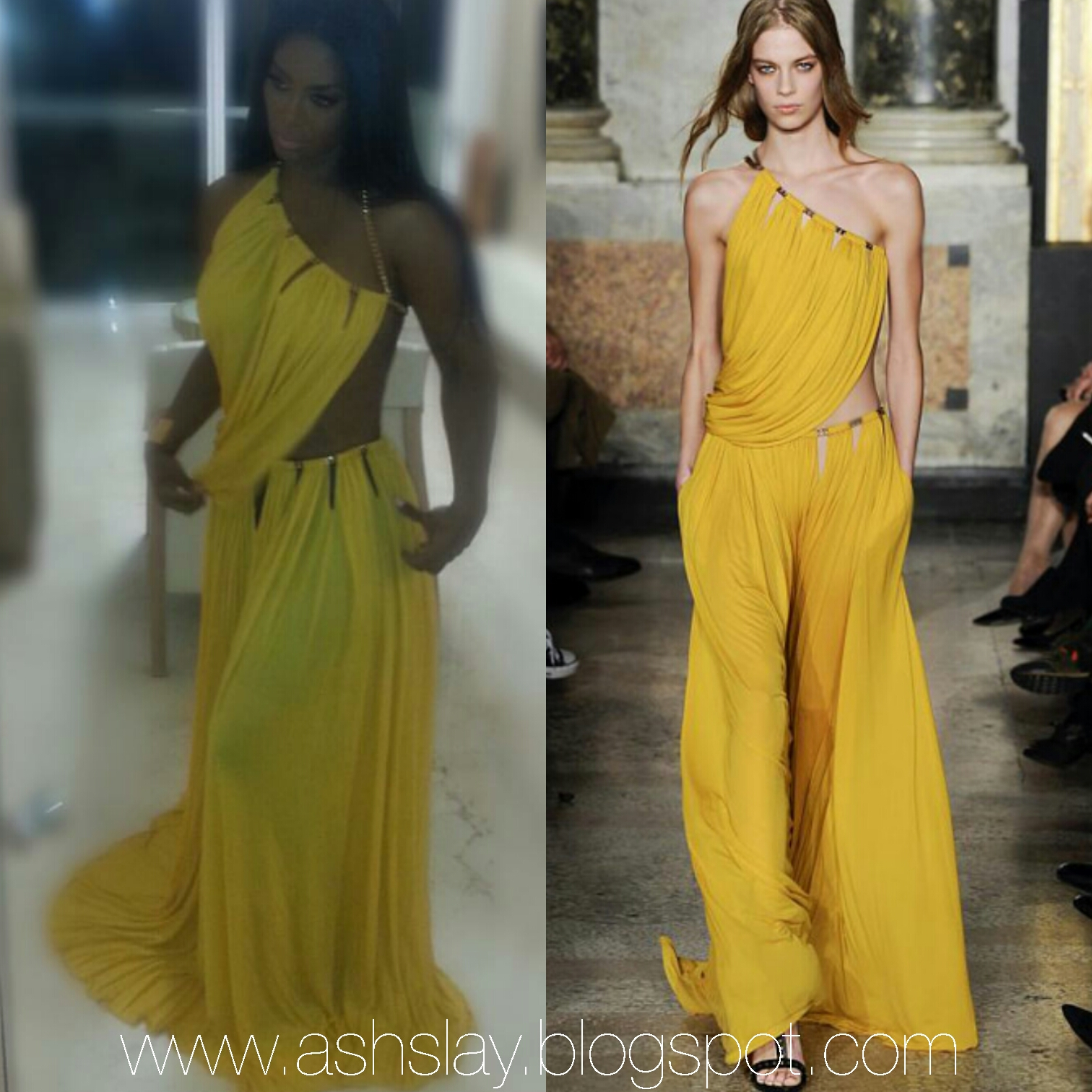 Style Breakdown Rhoa Kenya Moore Wearing Emilio Pucci Dress