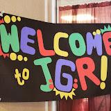 Week 1 - JGR Summer Retreat 2013