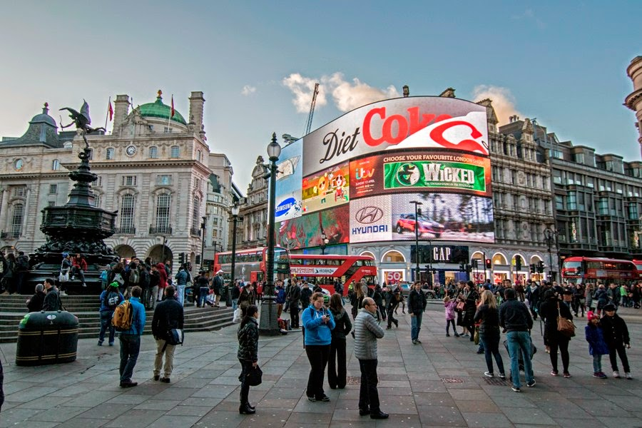 Picadilly Circus en Londres