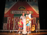 The Freys on the stage in the Ryman Auditorium in Nashville TN 09042011a