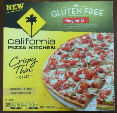 ... California Pizza Kitchen Gluten Free Margherita Pizza ...