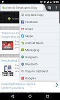 Screenshot of Any Web Copy