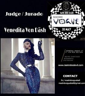 2da edicion de Madrid Vogue Ball