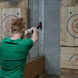 ready, aim, BATL axe throwing Toronto in Toronto, Ontario, Canada