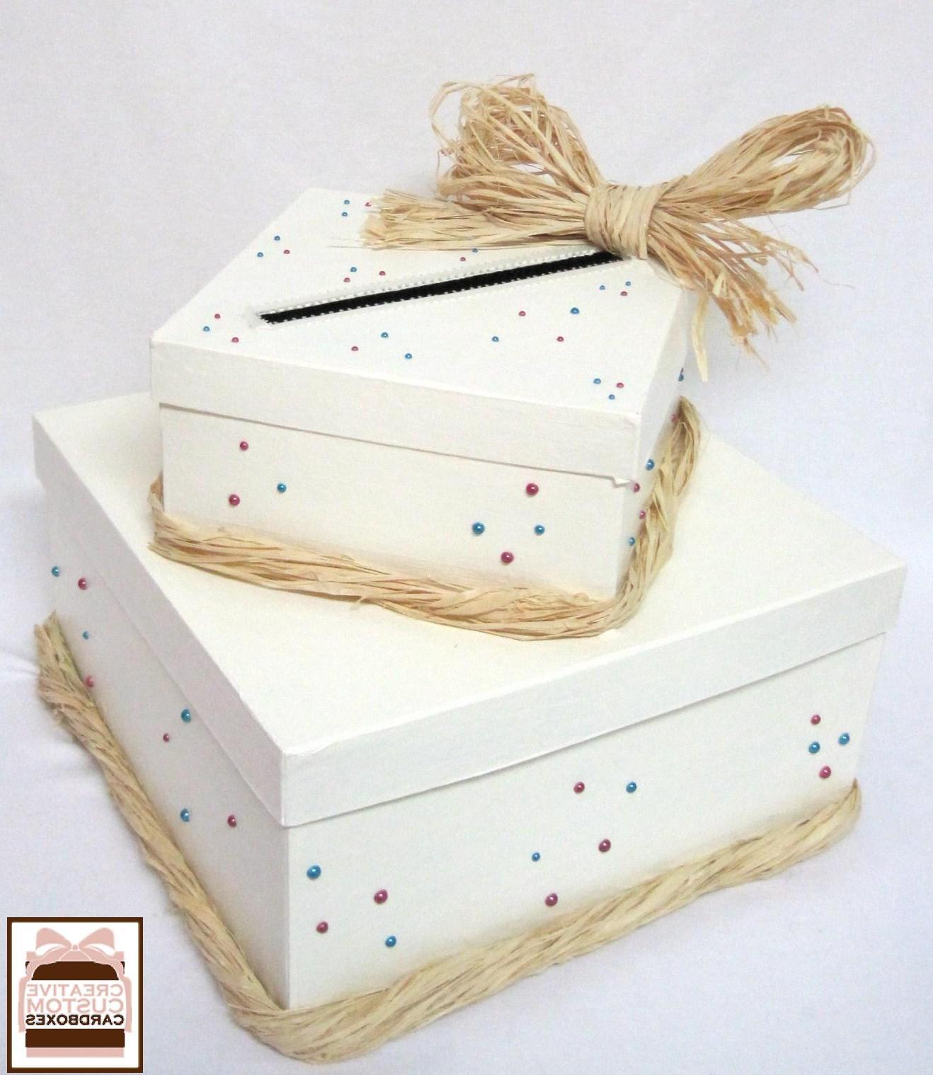 winter wedding card box ideas