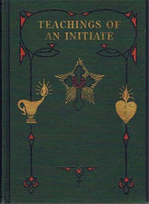 Cover of Max Heindel's Book Teachings Of An Initiate