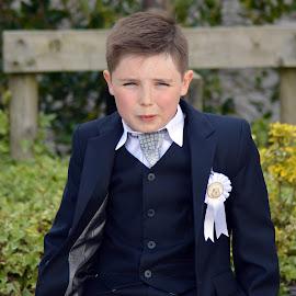 Communion Boy by Eoin Healy - Babies & Children Child Portraits ( event, communion, portrait )