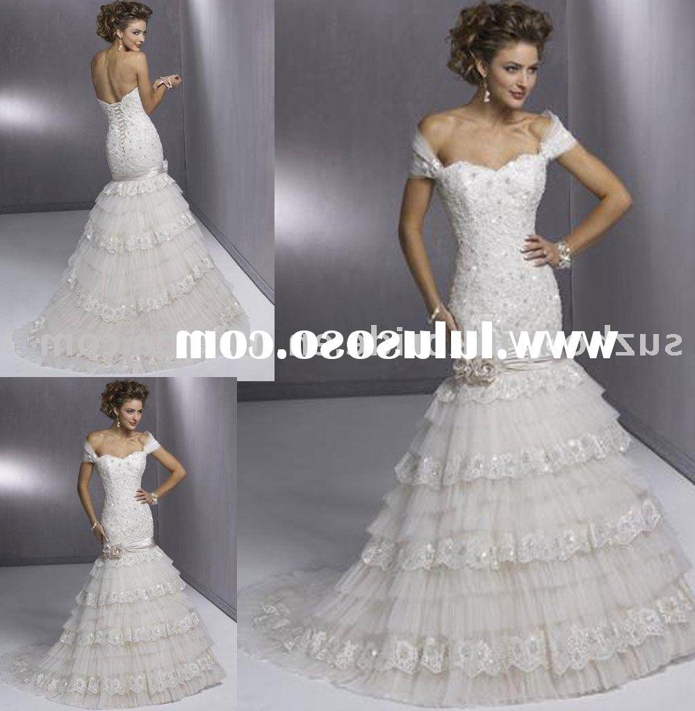 Top -design wedding dress