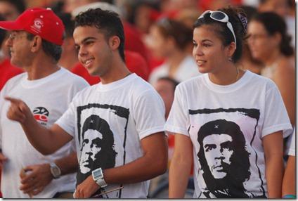 No nos van a impedir aprender del Che