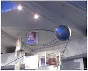 Макет первого спутника