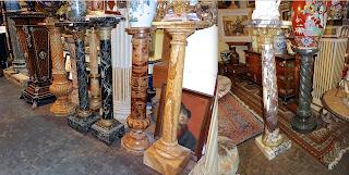 Антикварные колонны. 19-й век.