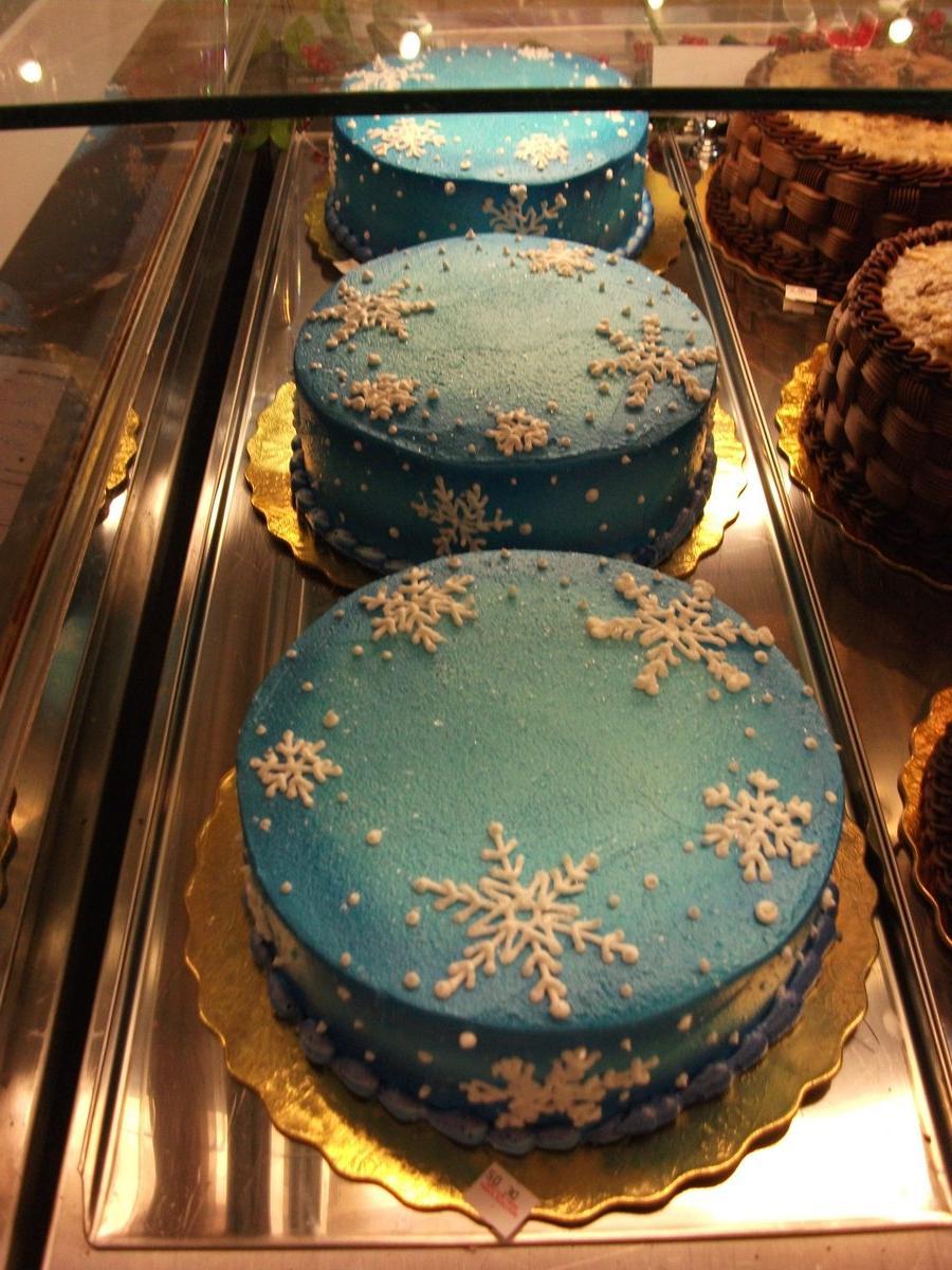 Snowflake Cake by  Nimhel on