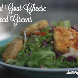 Baked Goat Cheese Salads
