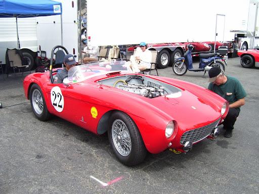 Stunning 50's Ferrari 4 cylinder racer.