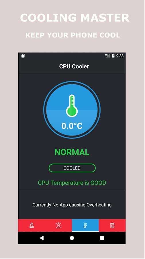 Mobile Cleaner - Cpu Cooler & Power Saver(Pro) Screenshot 2