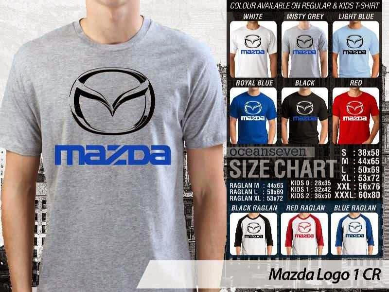 KAOS Mazda Logo Otomotif distro ocean seven