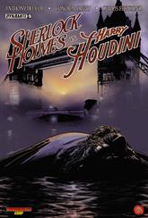 Actualización 21/07/2015: Traducido por Rodrigo Tello y maquetado por Kid G, en alianza con Thunderbolts Corp y How To Arsenio Lupín traen la conclusion a esta comic, Sherlock Holmes vs Harry Houdini #5.