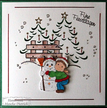 Hobbydots Snowy Hug Tilda 1