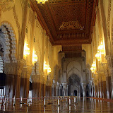 Seating for 25,000 In The Interior of the Hassan II Mosque - Casablanca, Morocco