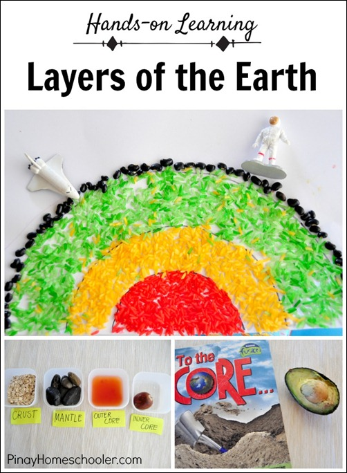 Layers of the Earth PIN