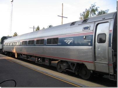 IMG_8433 Amtrak Amfleet I Coach #82621 in Salem, Oregon on August 15, 2007