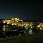widok na Most Rzymski i Katedrę w Kordobie