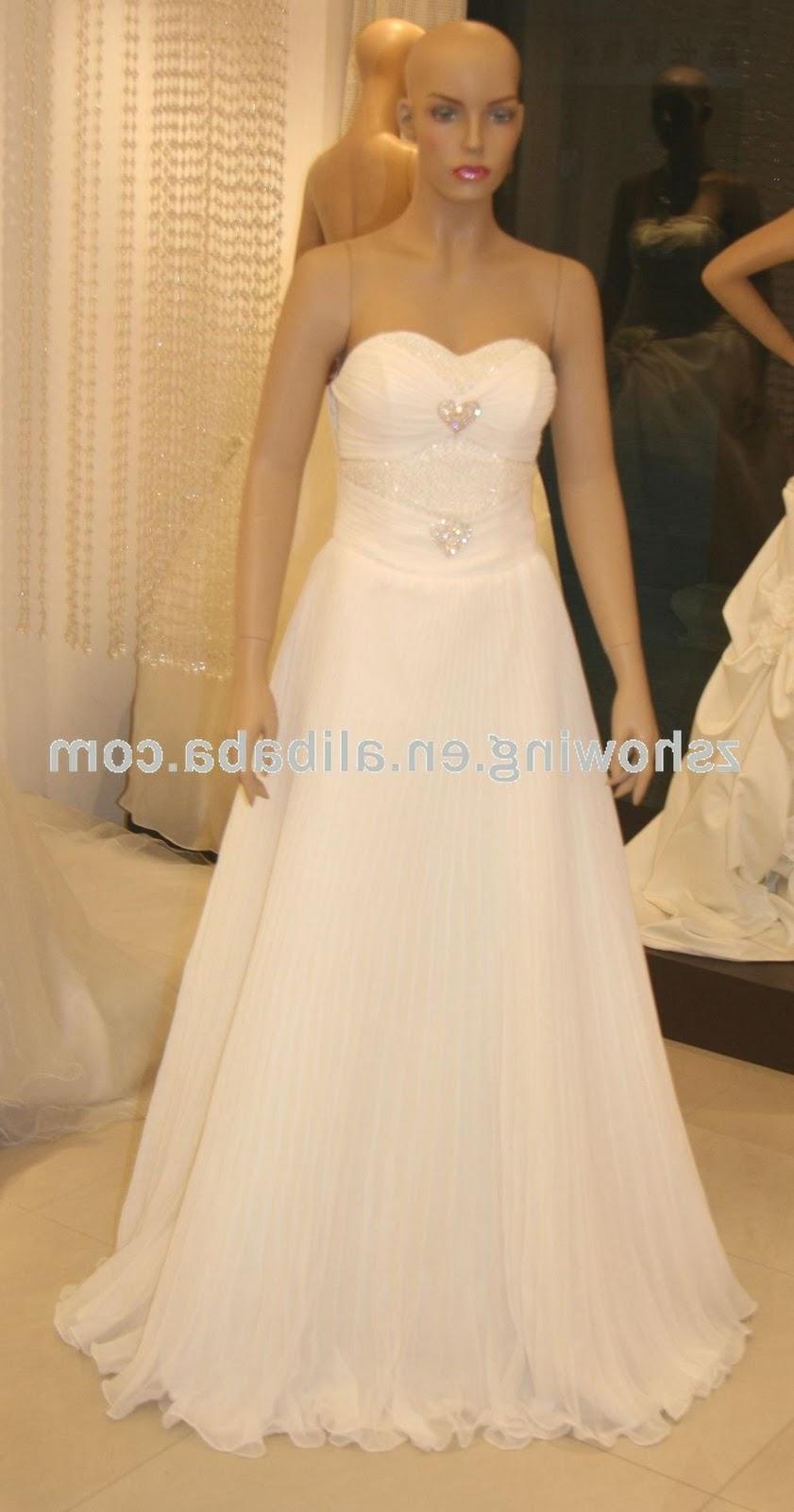 SSW036 lime green wedding dresses