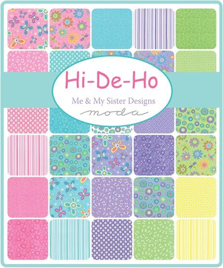 Hi-De-Ho fabrics and precuts at the Fabric Mill