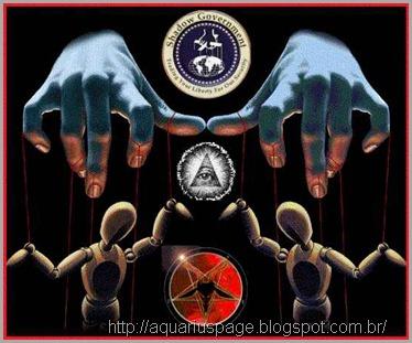 Marionetes dos illuminatis é a maioria populacional.