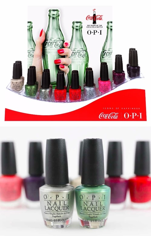 OPI Coca-Cola 2015 Icons of Happiness Collection Summer 2015