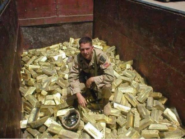 Misteri RIBUAN EMAS yang hilang dalam invasi Iraq!