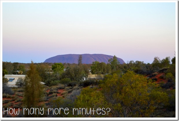 A View From the Campground | How Many More Minutes?