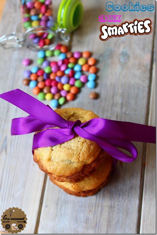 Cookies aux Smarties 13