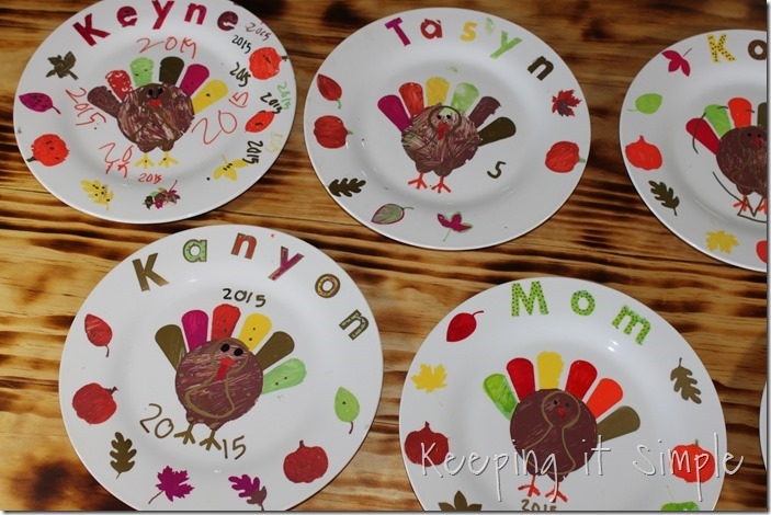 DIY-Thanksgiving-Dinner-Plates Kids Craft (15)