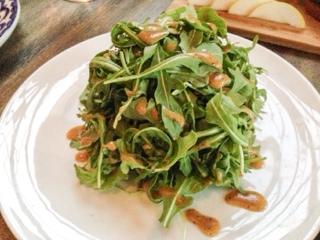 Portland Variety mushroom salad