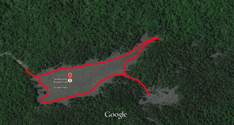 Google Maps-path